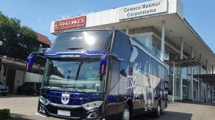 Deretan Bus Milik Klub Sepak Bola Indonesia, Fasilitas Mewah: Ada PS5 di dalam Kabin