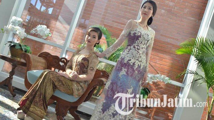 Desainer Stephanie Zhang Pilih Songket Palembang untuk Ikon Busana Hari Kartini 2019