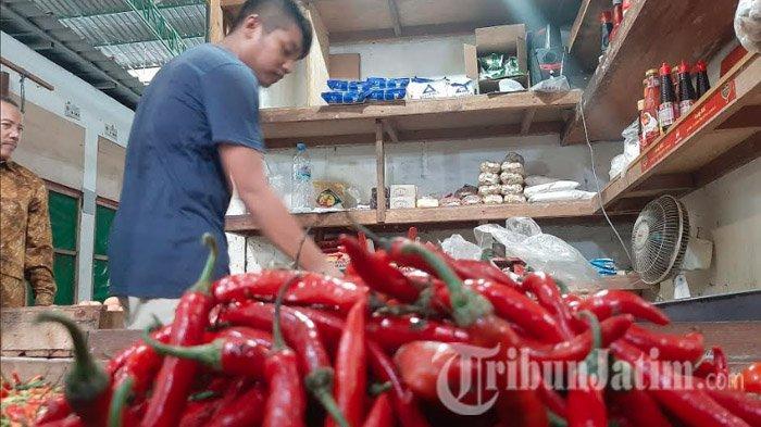 Pedasnya Harga Cabai Rawit di Kabupaten Gresik, Capai Rp 65 Ribu Per Kg