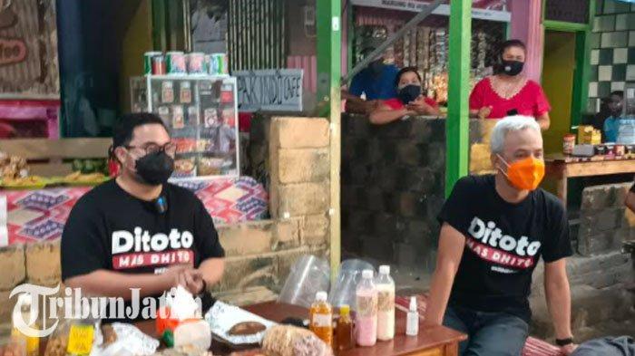 Demi Tingkatkan Elektabilitas, Dhito Ajak Ngopi Ganjar Pranowo di Sumber Paron Kediri untuk Diskusi