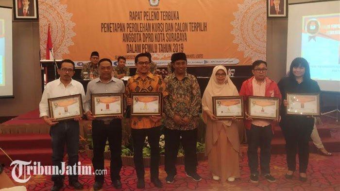 50 Caleg Terpilih di Surabaya Sudah Ditentukan, KPU Sebut Pelantikan Dilakukan Sebelum 24 Agustus