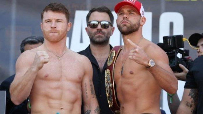 Jadwal Tinju Dunia Akhir Pekan - Duel Unfikasi, Canelo Alvarez Vs Billy Joe Saunders