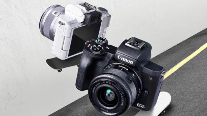 Gebrakan Canon di Awal Tahun 2021, Luncurkan Kamera Mirrorless EOS M50 Mark II