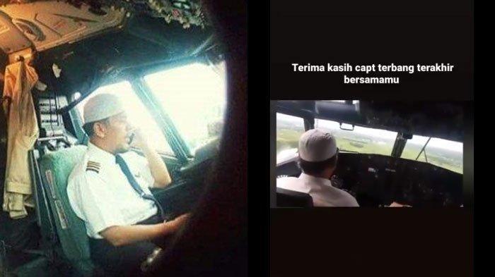 Captain Afwan pilot Sriwijaya Air yang disegani rekannya.