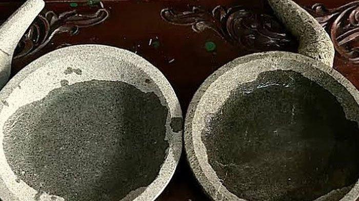 Cara Mudah Membedakan Cobek Batu Asli dan Palsu, Langsung Cek saat Baru Dibeli, Bisa Dicoba di Rumah