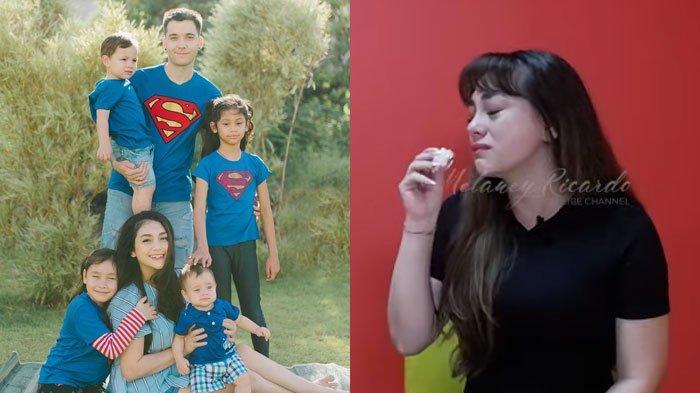 Celine Evangelista Nangis Ingat Nasib 4 Anaknya dengan Stefan William, Pisah Rumah dan IG Diunfollow