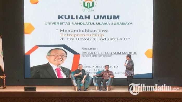 Tips Wirausaha Muda Sukses ala Alim Markus CEO Maspion Group, Berani Memulai & Jangan Berkecil Hati