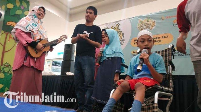 Cerita Bersama Anak Istimewa 'Festival Dongeng Surabaya', Sebarkan Semangat di Hari Pahlawan