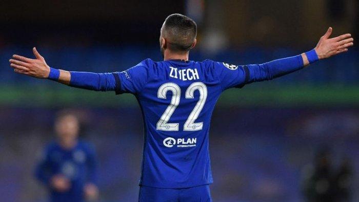 Hasil Chelsea Vs Manchester City - Gol Semata Wayang Hakim Ziyech, Antar The Blues ke Final Piala FA