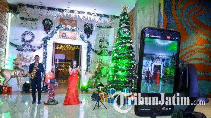 Virtual Christmas Tree Lighting Jadi Penanda Festive Season di Vasa Hotel Surabaya