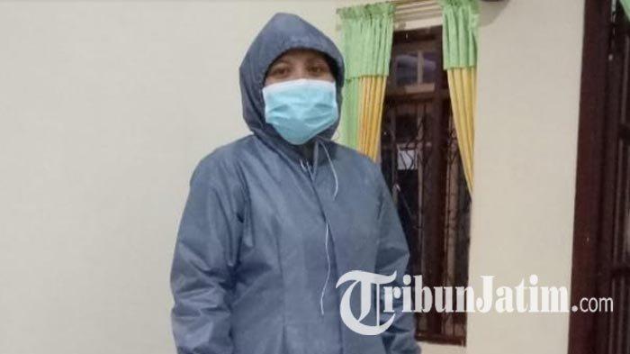 Perajin Binaan Dekranasda Trenggalek Bikin Masker dan APD, Bakal Dijual hingga Didonasikan