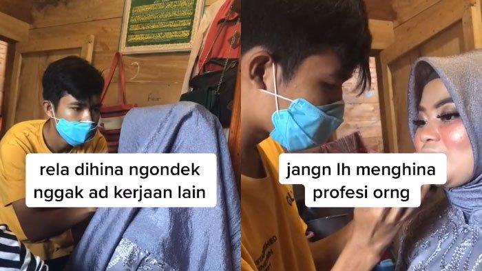 VIRAL Kisah Cowok Perias Dihina 'Ngondek', Padahal Kerja Halal dan Bisa Bayar Kuliah Sendiri