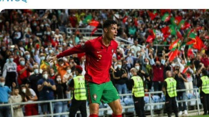 Cristiano Ronaldo Memang Sakti, Cetak Hattrick ke-10 di Laga International, Portugal Menang Telak
