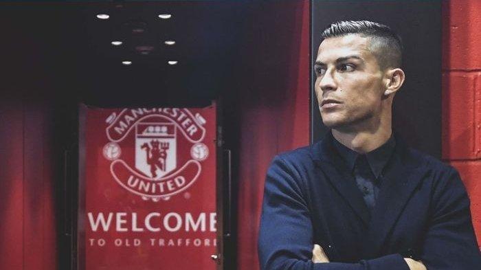 Muncul di Tempat Latihan MU, Cristiano Ronaldo Jadi Sorotan, Baju yang Dipakai Jadi Perkara