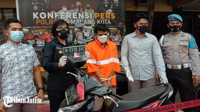 Awal April Bebas dari Kasus Pencurian Sepeda Pancal, Kuli Pasar Gadang Kini Ketangkap Curi Motor