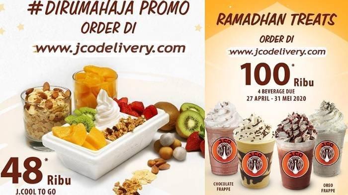 6 PROMO J.CO Buat Di Rumah Aja-Spesial Ramadhan, Rp 100 Ribu Dapat 4 Minuman Manis untuk Buka Puasa
