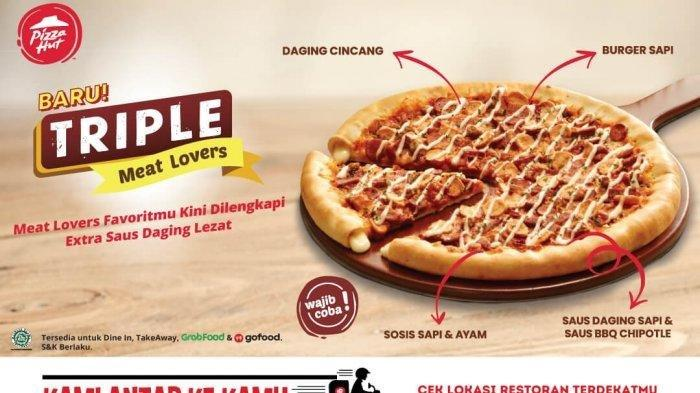Daftar Promo Pizza Hut Juni 2020, Paket Ber-2 Rp 140.000 & Triple Meat Lovers Paket Ber-4 Rp 272.000