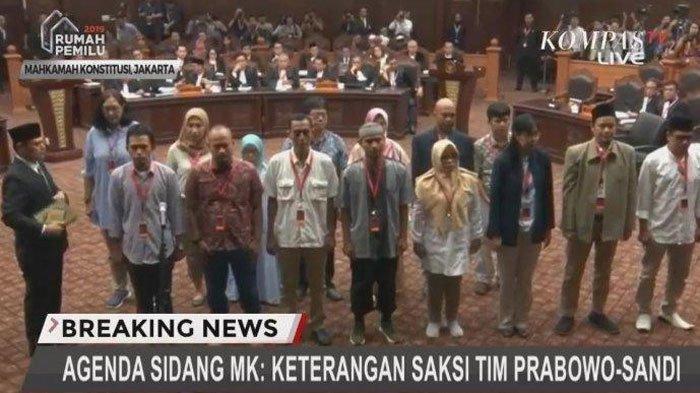 Daftar Saksi Tim Prabowo-Sandiaga di Sidang Sengketa Pilpres 2019 MK, Said Didu Terlambat Datang