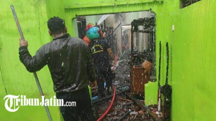 Warga Kecamatan Sambeng Rugi Rp 170 Juta Gegara Rumahnya Kebakaran, Diduga Akibat Korsleting Listrik