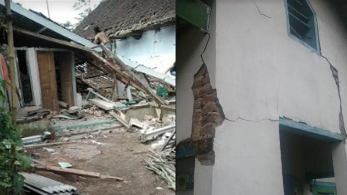 Dampak Gempa Bumi di Kabupaten Malang: 1 Warga Meninggal Dunia, Ratusan Rumah di 22 Kecamatan Rusak