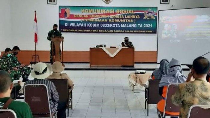 Perkuat Nasionalisme, Kodim 0833/Kota Malang Lakukan Pembinaan kepada Komunitas Masyarakat