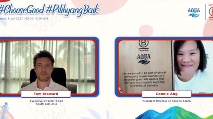 Danone-AQUA Kembali Raih Sertifikasi B Corp, Bukti Komitmen Kuat terhadap Bisnis Berkelanjutan