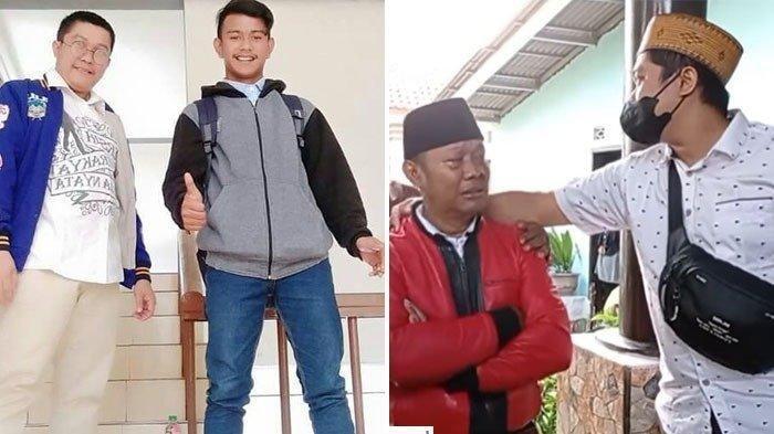 Danu (jaket hitam dan abu-abu) bantah tuduhan Yosef (jaket merah) terkait kasus pembunuhan ibu dan anak di Subang.