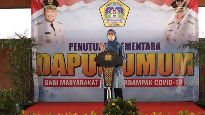 Ketua TP-PKK Istri Bupati Gus Yani Apresiasi Relawan Dapur Umum, Terkumpul Uang Donatur Rp 47 Juta