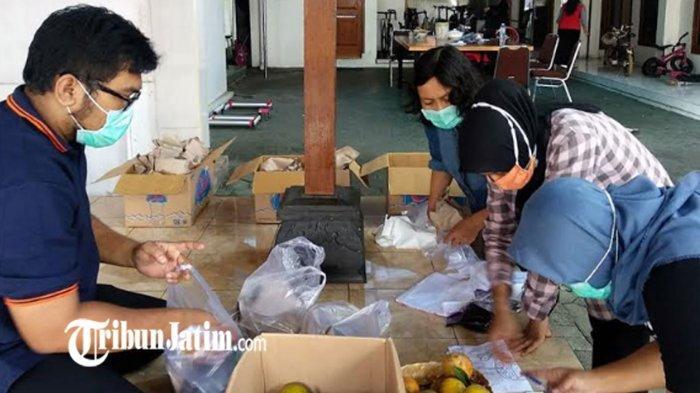 Rumah Dinas Wali Kota Kediri Jadi Posko Dapur Umum, Suplai Asupan Warga Isolasi Mandiri Covid-19