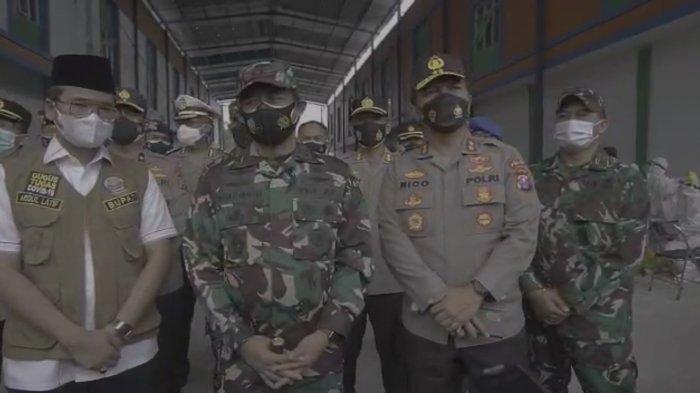 Antisipasi Lonjakan Covid-19 di Bangkalan, Kapolda Jatim-Pangdam V Brawijaya Pakai Manajemen Krisis