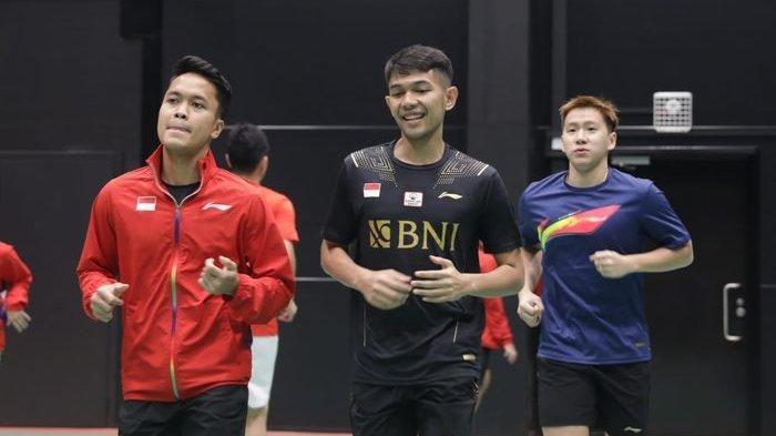 Piala Sudirman 2021 - Tiba di Finlandia, Tim Bulu Tangkis Indonesia Langsung Geber Latihan