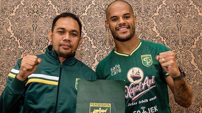 Tiba di Surabaya, David da Silva akan segera Bergabung Latihan Bersama Persebaya