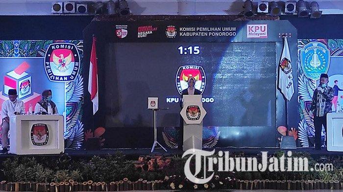 Pilkada Ponorogo 2020, Dana Kampanye Sugiri Sancoko Lampaui Ipong Muchlissoni