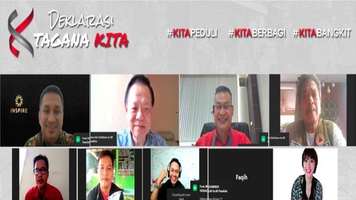 Kolaborasi 1.018 Komunitas Indonesia Timur Area Kompak Deklarasikan Program TAGANA KITA