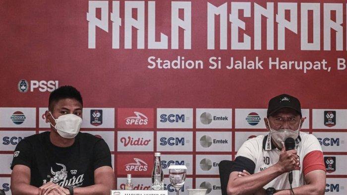 Tak Ada Kendala Soal Mental, Pelatih Madura United Isyaratkan Rotasi Pemain Hadapi Persela