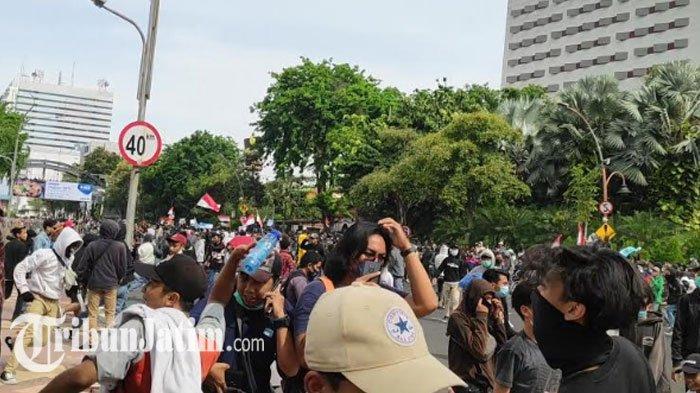 Tanggapi Demo Tolak UU Omnibus Law,Pemprov Jatim Bawa Rekomendasi Buruh ke Presiden