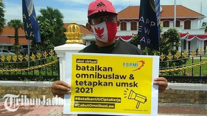 Buruh Jatim Minta Gubernur Khofifah Segera Tetapkan UMSK 2021, Harap Bisa Efektif Pada 1 Januari
