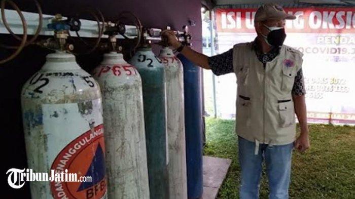 Cara Pengisian Tabung Oksigen Gratis di Depo Bakorwil III Malang, Besok Dibuka Oleh Pemprov Jatim