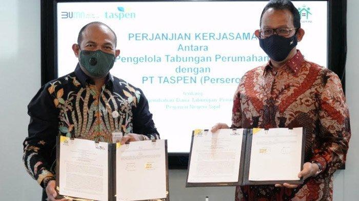 Permudah Kelancaran Pengembalian Dana Taperum kepada PNS Pensiun, BP Tapera MoU dengan PT Taspen