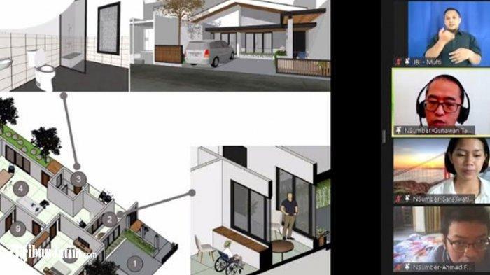 Desain Rumah Anti Covid-19, Bisa Diterapkan di Surabaya dengan Ukuran Tanah 12 Meter x 30 Meter