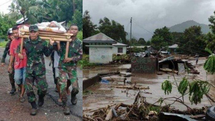 Pagi Kelam Lorensius Tahu Jasad Ibu Sudah di Pantai, Semalaman Terseret Banjir: Pagi Sudah Begini