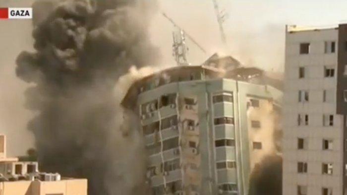 Cuma 1 Jam Israel Beri Waktu Jurnalis, Kantor Dibom Rata Tanah, Demi Tutupi Kebrutalan ke Muka Dunia