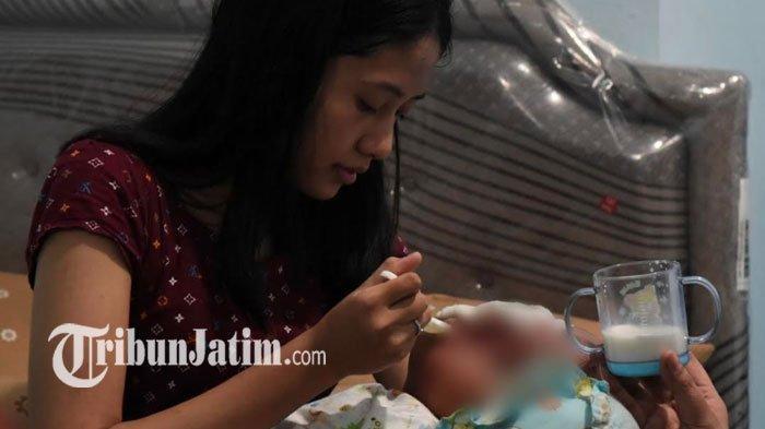 Khofifah Turunkan Empat Dokter Spesialis dari RSUD Dr Soetomo untuk Tangani Bayi Hidrosefalus Pandhu