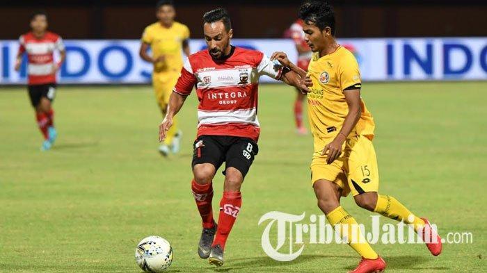 Turun di Laga Madura United Vs Semen Padang, Diego Assis Senang Kembali Bermain di Indonesia