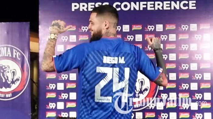 Lakoni Debut Bersama Arema FC dan Menang, Diego Michiels Senang: Aremania Mohon Bersabar