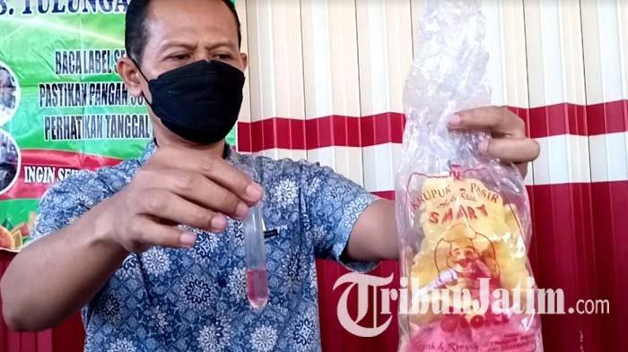 Uji Sampel Takjil di Tulungagung, Sejumlah Makanan Mengandung Bahan Berbahaya, Salah Satunya Kerupuk