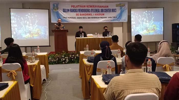 Dukung Program MJC, Dinas Koperasi dan UMKM Jawa Timur Gelar Pelatihan Bagi Milenial di Madiun
