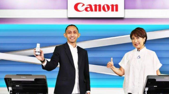 Dukung Kebutuhan Cetak, Canon Indonesia Luncurkan Printer PIXMA Ink Efficient G Series