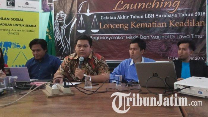 LBH Surabaya Tangani Kasus Perlindungan HAM, Fokus Isu Pembungkaman Hak Kebebasan Berekspresi