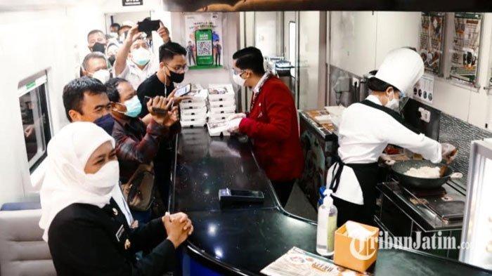 Ciptakan Suasana Nongkrong ala Kafe Kekinian, KAI Sediakan Wifi Gratis & Live Cooking di Kereta